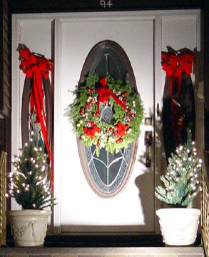 Christmas Door Decorations 2003